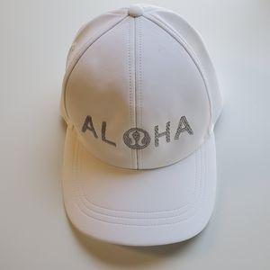 Lululemon ALOHA Baller Hat White